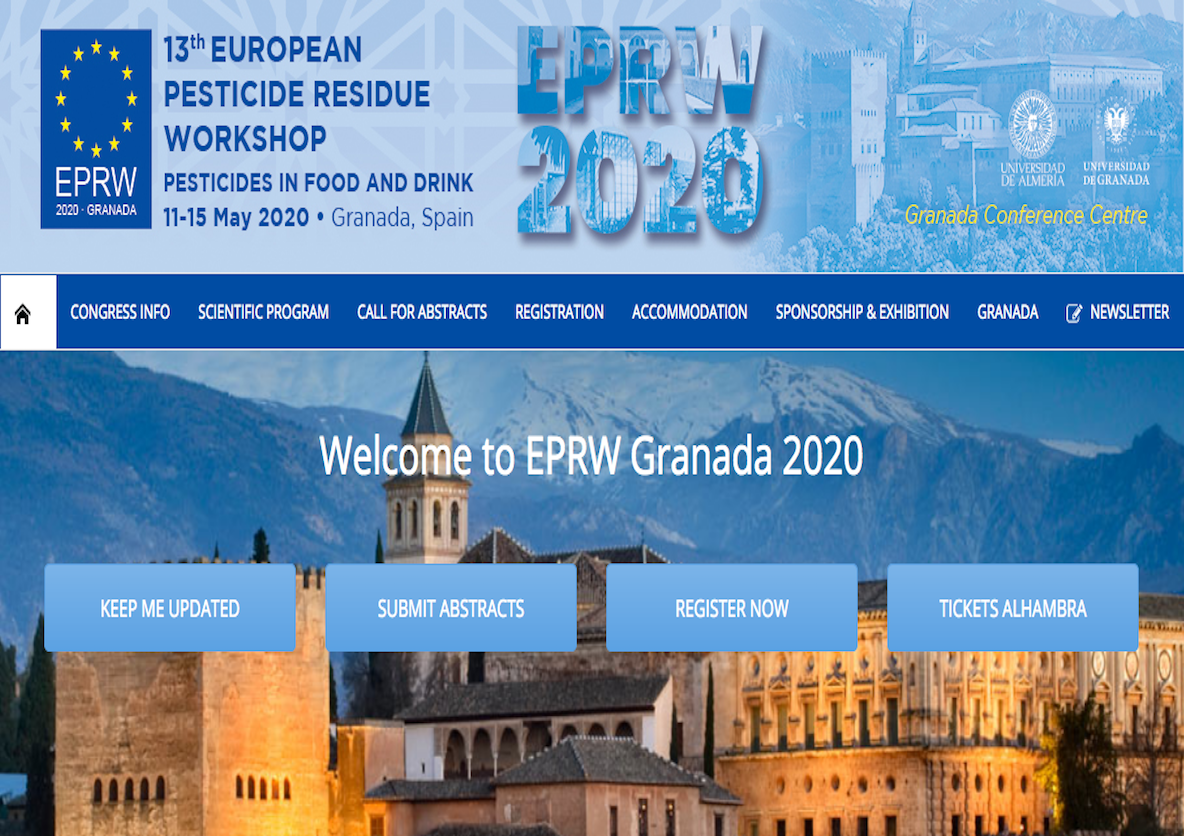 13th European Pesticide Residues Workshop